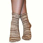 Аксессуары ручной работы. Ярмарка Мастеров - ручная работа Тонкие шерстяные носки. Handmade.