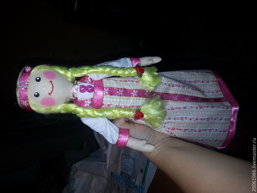 Народные куклы ручной работы. Ярмарка Мастеров - ручная работа. Купить две сестренки. Handmade. Разноцветный, текстильная игрушка, бязь