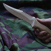Сувениры и подарки ручной работы. Ярмарка Мастеров - ручная работа Нож деревянный. Handmade.