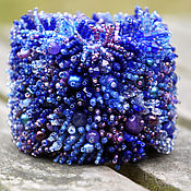 Украшения ручной работы. Ярмарка Мастеров - ручная работа Браслет Cobalt blue. Handmade.