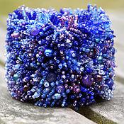 Украшения handmade. Livemaster - original item Bracelet Cobalt blue. Handmade.
