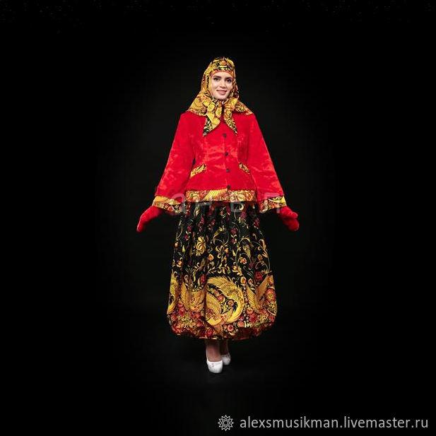 """Русский народный костюм """"Масленица"""", Народные костюмы, Москва,  Фото №1"""
