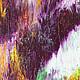 Абстракция ручной работы. Абстрактная живопись. Marvelous.. Анна. Ярмарка Мастеров. Лес, желтый, картина, холст