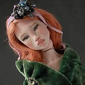 Шарнирная кукла ручной работы. Ярмарка Мастеров - ручная работа Куинни. Фарфоровая шарнирная кукла. Handmade.