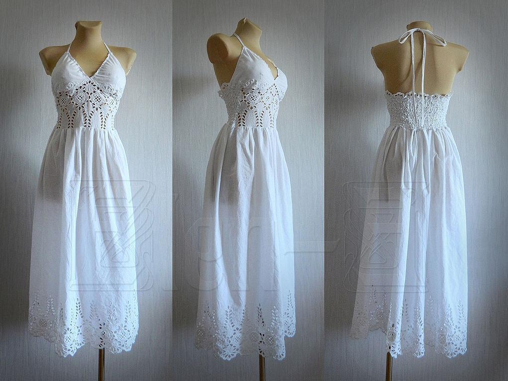 Сшить платье в пол своими руками из хлопка