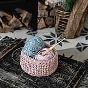 Материалы для творчества handmade. Livemaster - original item Crochet hook made of Siberian cedar wood 4mm. K182. Handmade.