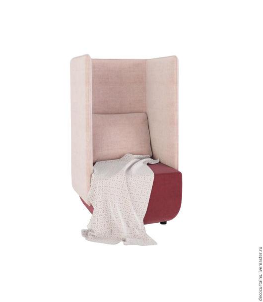 Мебель ручной работы. Ярмарка Мастеров - ручная работа. Купить Велюровое кресло Ар Деко с высокой спинкой. Handmade. Кремовый