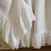 Для дома и интерьера handmade. Livemaster - original item Linen tablecloth with cambric