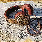 """Дизайн и реклама ручной работы. Ярмарка Мастеров - ручная работа Стимпанк-наушники """"Часовщик"""" (тюнинг) / Beats Pro / ре. Handmade."""