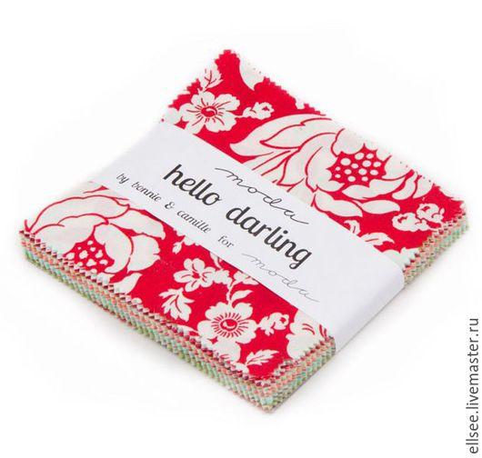 Шитье ручной работы. Ярмарка Мастеров - ручная работа. Купить Набор тканей №46. Handmade. Ткани, наборы для пэчворка