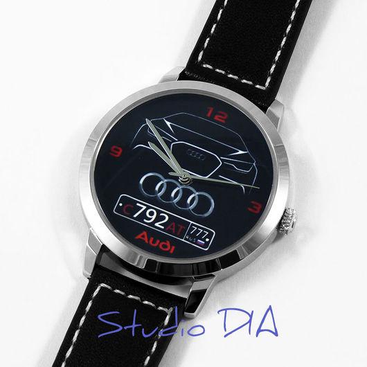 Часы Audi С Номером. Студия Дизайнерских Часов DIA.