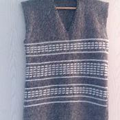 Одежда ручной работы. Ярмарка Мастеров - ручная работа Жилет из козьего пуха. Handmade.
