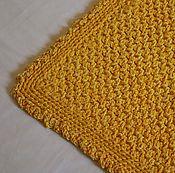 """Для дома и интерьера ручной работы. Ярмарка Мастеров - ручная работа коврик вязаный прямоугольный """"Лютик"""". Handmade."""