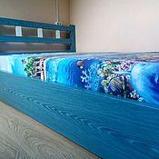 """Кровати ручной работы. Ярмарка Мастеров - ручная работа Кровать """"Голубая лагуна"""". Handmade."""