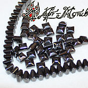 Beads1 handmade. Livemaster - original item Hematite, rondelle square, 5,5h3,5 mm (natural stone). Handmade.