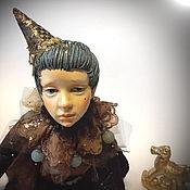 Чердачная кукла ручной работы. Ярмарка Мастеров - ручная работа Чердачная кукла: Золотой мальчик. Handmade.