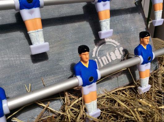 """Прихожая ручной работы. Ярмарка Мастеров - ручная работа. Купить Вешалка для шарфов """"Футбол"""". Handmade. Синий, вешалка для детской, футбол"""