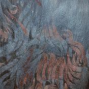 """Аксессуары ручной работы. Ярмарка Мастеров - ручная работа Палантин """"Цветок османтуса"""". Handmade."""
