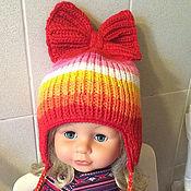 """Работы для детей, ручной работы. Ярмарка Мастеров - ручная работа шапка """"Осенние краски"""". Handmade."""