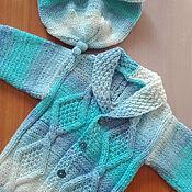 Работы для детей, ручной работы. Ярмарка Мастеров - ручная работа Комплект: кофта +шапочка. Handmade.