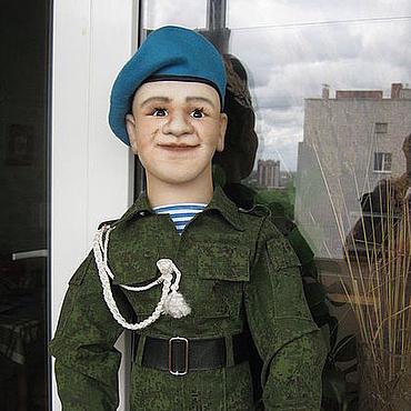 """Куклы и игрушки ручной работы. Ярмарка Мастеров - ручная работа Кукла """"Десантник"""". Handmade."""