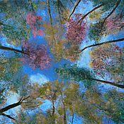 Картины и панно handmade. Livemaster - original item Painting autumn