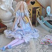 """Куклы и игрушки ручной работы. Ярмарка Мастеров - ручная работа Кукла в стиле Тильда """"Алиса в стране чудес"""". Handmade."""