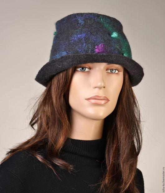 шляпа валяная ручной работы