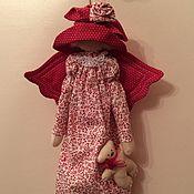 Куклы и игрушки ручной работы. Ярмарка Мастеров - ручная работа Куколка Тильда декоративная. Handmade.