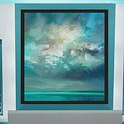 Картины и панно handmade. Livemaster - original item Interior painting Highlights on the water. Handmade.