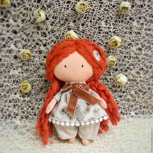 Куклы Тильды ручной работы. Ярмарка Мастеров - ручная работа. Купить текстильная кукла. Handmade. Рыжий, авторская ручная работа