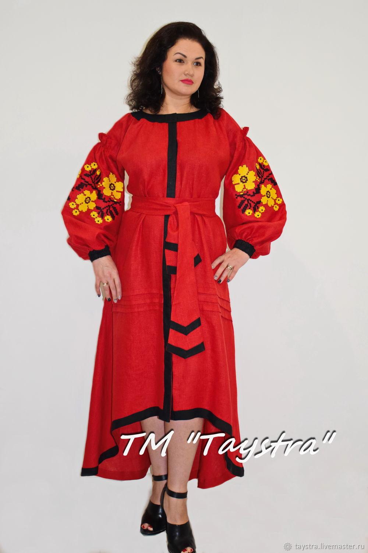 Платье женское, вышитое, бохо, этно стиль, Bohemia,вышиванка, Платья, Черновцы,  Фото №1