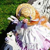 Куклы и игрушки ручной работы. Ярмарка Мастеров - ручная работа Нежная лаванда. Handmade.