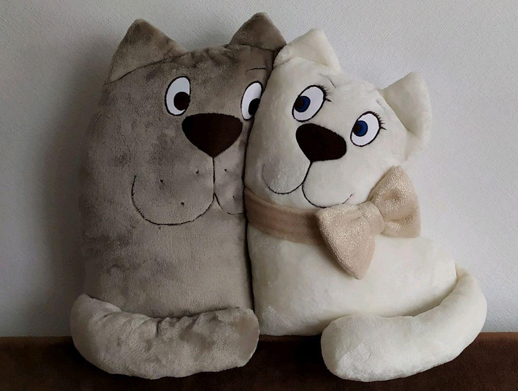 Подушка коты-неразлучники, Подарки, Химки,  Фото №1