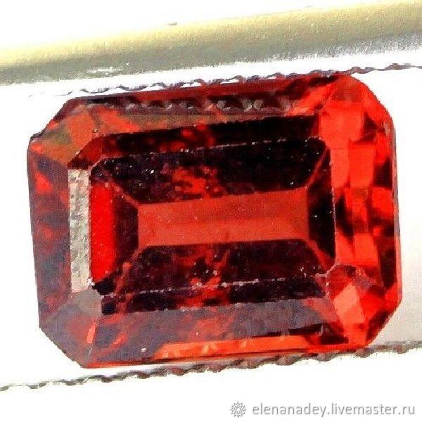 Almandin garnet bright red, Cabochons, Ekaterinburg,  Фото №1