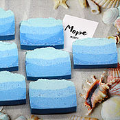 Косметика ручной работы handmade. Livemaster - original item Soap natural salt Spray of the sea. Handmade.