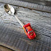 Посуда handmade. Livemaster - original item A teaspoon of Lightning McQueen (Cars). Handmade.