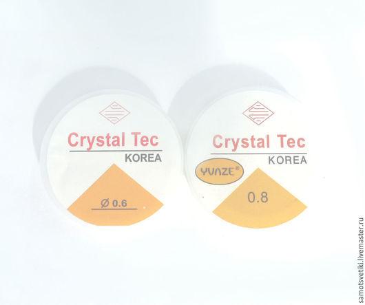 Для украшений ручной работы. Ярмарка Мастеров - ручная работа. Купить Резинка силиконовая 0,6   0,8  1,0 мм для браслетов. Handmade.