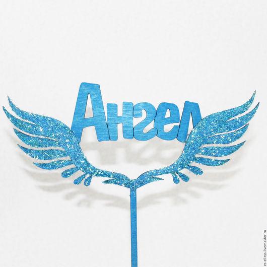 Топпер на торт ` Ангел`