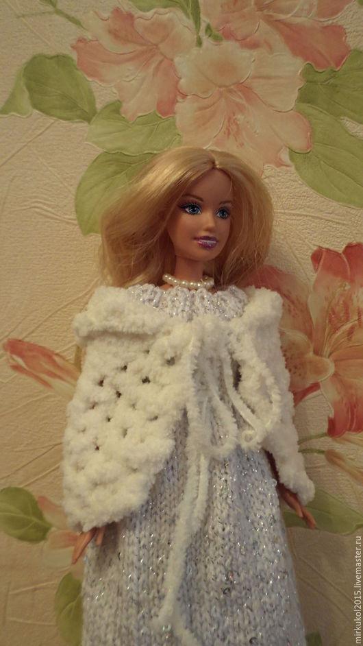 Одежда для кукол ручной работы. Ярмарка Мастеров - ручная работа. Купить Платье для Барби. Handmade. Белый