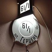 Интерьерный светильник-ключница в стиле ретро