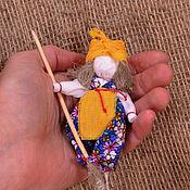 Куклы и игрушки ручной работы. Ярмарка Мастеров - ручная работа Баба яга. Сказочный персонаж. Русские сказки. Handmade.