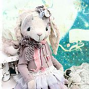 Куклы и игрушки ручной работы. Ярмарка Мастеров - ручная работа Музыкальная зайка Есения. Handmade.