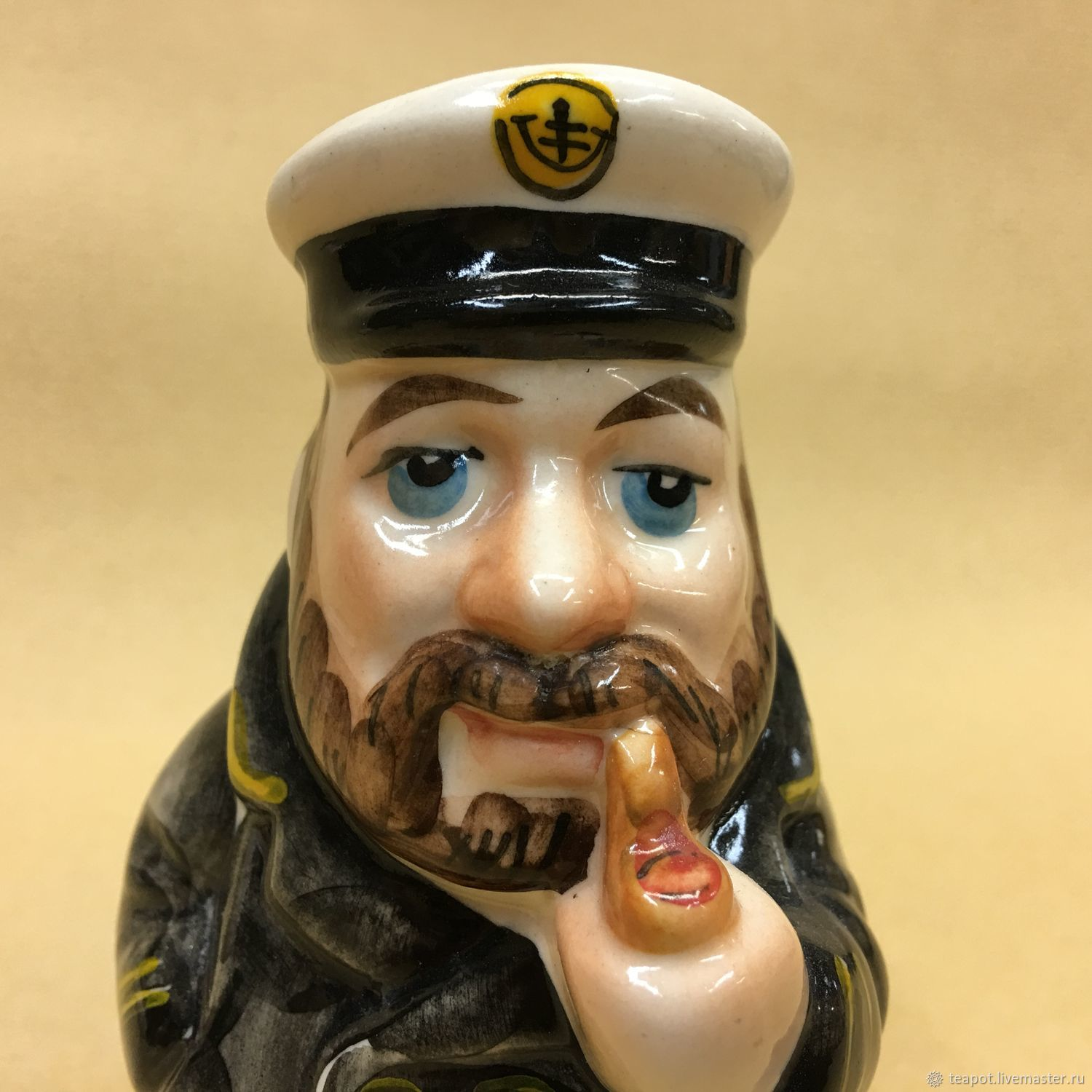 Boatswain porcelain figurine, Souvenirs by profession, Moscow,  Фото №1