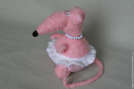 Игрушки животные, ручной работы. Ярмарка Мастеров - ручная работа. Купить Крыса Эмилия. Handmade. Вязание крючком, интерьерная игрушка