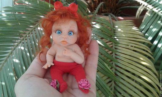 Коллекционные куклы ручной работы. Ярмарка Мастеров - ручная работа. Купить ...Лиз(с)онька с хвостиком ..... Handmade. Бежевый, кукла в подарок, миниатюра