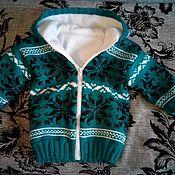 Одежда ручной работы. Ярмарка Мастеров - ручная работа куртка на флисе. Handmade.