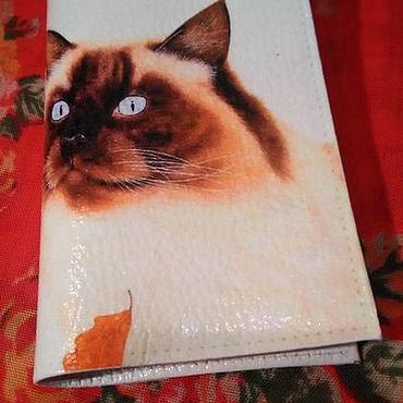 Stationery handmade. Livemaster - original item Passport cover
