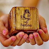 Подарки к праздникам ручной работы. Ярмарка Мастеров - ручная работа Кубик с комплиментами от Alexander Awe. Handmade.