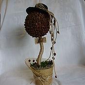 Цветы и флористика handmade. Livemaster - original item Topiary coffee. Handmade.